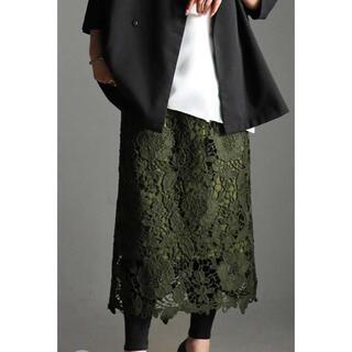 antiqua - antiqua/繊細な大人レースの魅力。レーススカート!sizeフリー