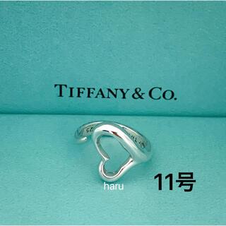 Tiffany & Co. - TIFFANY&Co. ティファニー オープンハートリング