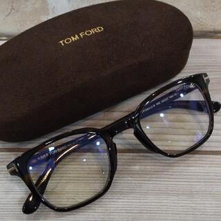 TOM FORD - トムフォード メガネ デミブラウン 伊達 人気モデル