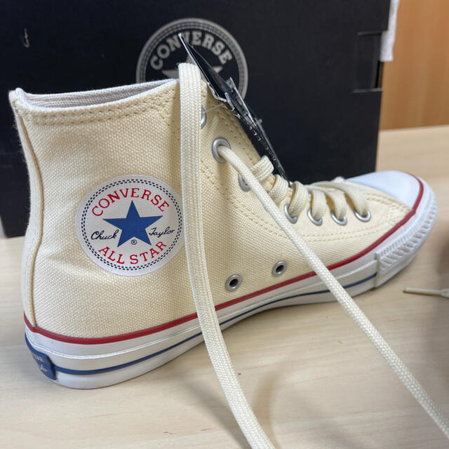 CONVERSE(コンバース)の新品 コンバース オールスター 100  24cm ホワイト レディースの靴/シューズ(スニーカー)の商品写真