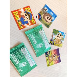 クレヨンしんちゃん チョコビシール 6枚 キラキラ(キャラクターグッズ)