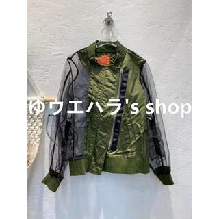 サカイ(sacai)のSACAI 21SS スプライシング  ジャケット/アウター(テーラードジャケット)