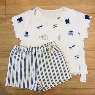 gelato pique - 【タイムセール】ジェラピケ★ルームウェア 上下セット Tシャツ パンツ