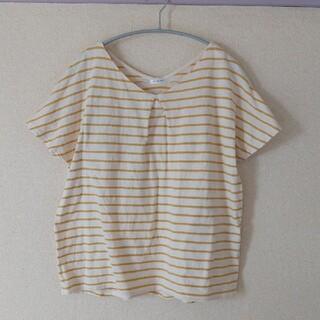 ハニーズ(HONEYS)のドルマン型ボーダートップス♡Lサイズ(Tシャツ(半袖/袖なし))