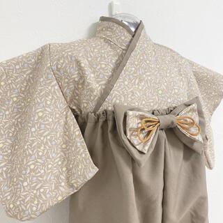 ベビー袴 完成品 ハンドメイド 70-80(和服/着物)