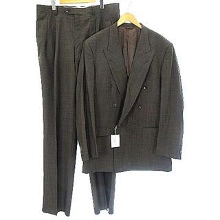 Christian Dior - クリスチャンディオール ヴィンテージ ダブル スーツ セットアップ 茶 58