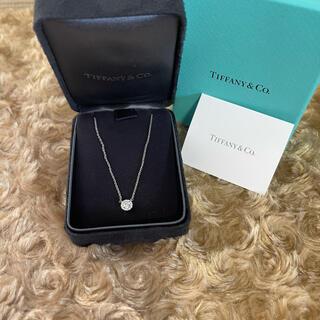 Tiffany & Co. - ティファニー ソレスト ネックレス Pt950  ダイヤモンド