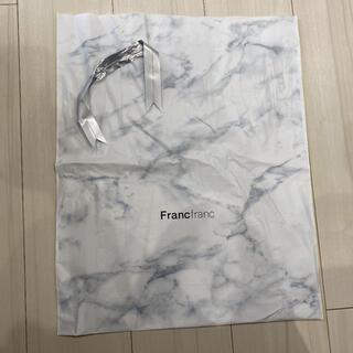 フランフラン(Francfranc)のFrancfranc フランフラン ショッパー ショップ袋 ビニール プレゼント(ショップ袋)