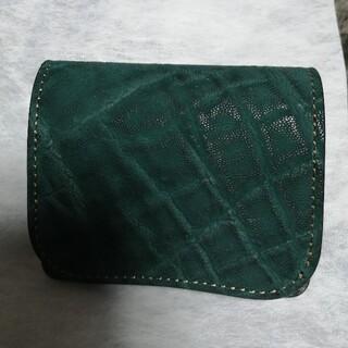 ガンゾ(GANZO)のWILDSWANS PALM エレファント 新品(折り財布)