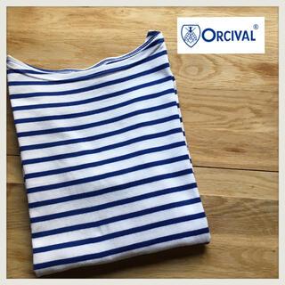 オーシバル(ORCIVAL)の【Moka2299様専用】ボーダー カットソー バスクシャツ ボーダーニット (カットソー(長袖/七分))