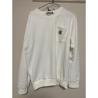 カーハート(carhartt)の新品未使用 Carhartt カーハートTシャツ白 (Tシャツ/カットソー(七分/長袖))