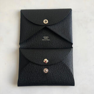 エルメス(Hermes)の新品・直営店購入 エルメス カルヴィデュオ ノワール ブラック(コインケース)