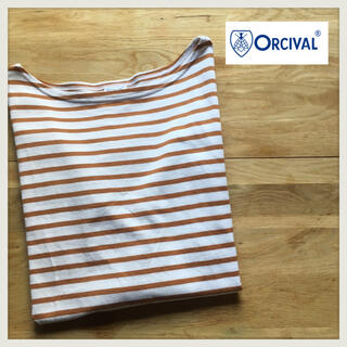 オーシバル(ORCIVAL)のボーダー カットソー バスクシャツ ボーダーニット ボーダーロンT(カットソー(長袖/七分))
