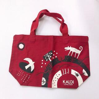 カルディ(KALDI)のKALDI♡新品未使用♡ミニトートバッグ♡お弁当入れ♡ピクニック♡カルディ♡(トートバッグ)