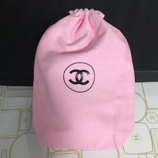CHANEL - CHANEL ノベルティ 巾着 ピンク
