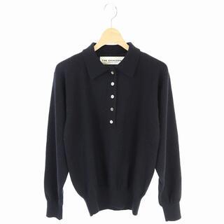 Shinzone - シンゾーン ザシンゾーン ウール 襟付き長袖ニット ポロシャツ