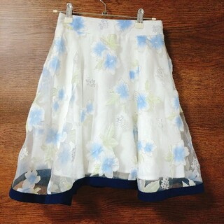 allamanda - アラマンダ 花柄スカート