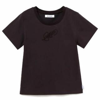 """バブルス(Bubbles)のMELT THE LADY """"M""""crew neck T-shirt グレー(Tシャツ(半袖/袖なし))"""