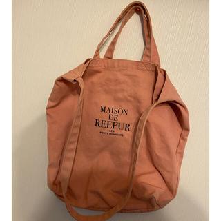 Maison de FLEUR - MAISON DE REEFUR トートバッグ ショルダー ピンク
