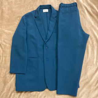 セットアップ 青 ブルー エマクローズ EMMA CLOTHES(セットアップ)