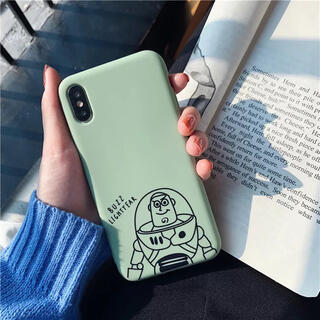 ディズニー(Disney)のディズニー トイストーリー バズ iPhoneXR(iPhoneケース)