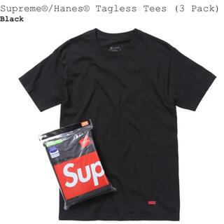 シュプリーム(Supreme)のシュプリーム ヘインズtee  3枚1パック(Tシャツ/カットソー(半袖/袖なし))
