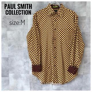 Paul Smith - 【極美品】ポールスミスコレクション ブロック コットン 長袖シャツ Mサイズ
