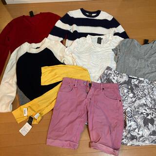 ダブルスタンダードクロージング(DOUBLE STANDARD CLOTHING)のダブルスタンダードロージングヒムD/him まとめ売り 短パン Tシャツ ニット(Tシャツ/カットソー(半袖/袖なし))