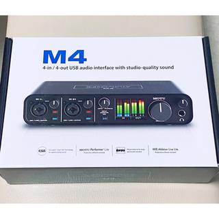 【新品未開封】MOTU M4 オーディオインターフェイス 【超レア!入手困難】(オーディオインターフェイス)
