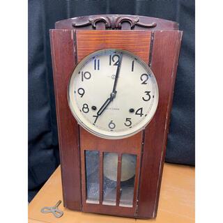 SEIKO - アンティーク SEIKO 振り子時計 ゼンマイ式 レトロ