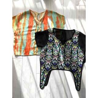 グースィー(goocy)の夏 トップス2点セット(Tシャツ(半袖/袖なし))