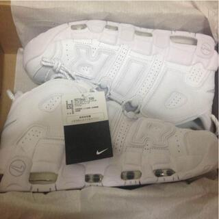 27.5cm NIKE AIR MORE UPTEMPO '96 White(スニーカー)