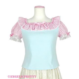 アンジェリックプリティー(Angelic Pretty)のふんわりカットソー(Tシャツ/カットソー(半袖/袖なし))
