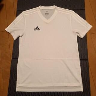 アディダス(adidas)のadidas アディダス トレーニングシャツ プラティスシャツ 半袖シャツ M(Tシャツ/カットソー(半袖/袖なし))