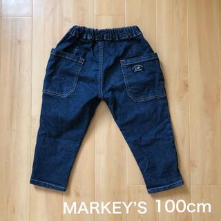 MARKEY'S - マーキーズ デニムタックロングパンツ 100cm MARKEY'S
