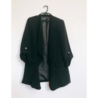 ザラ(ZARA)のジャケット ブラック (その他)