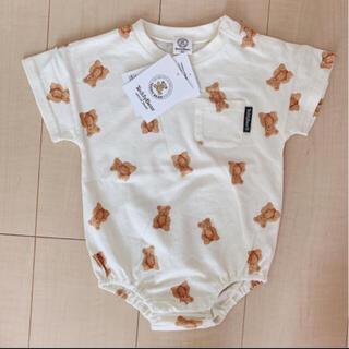 フタフタ(futafuta)の【完売商品】teddy bear ロンパース(ロンパース)