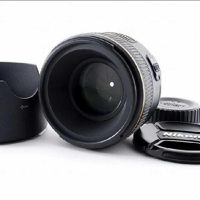 Nikon(ニコン)の美品 Nikon AF-S Nikkor 58mm F1.4 ニコン スマホ/家電/カメラのカメラ(レンズ(単焦点))の商品写真