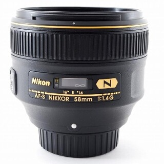 Nikon - Nikon AF-S Nikkor 58mm F1.4 ニコン