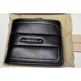 バーバリー(BURBERRY)のバーバリー 折り財布 ブラック 黒(折り財布)