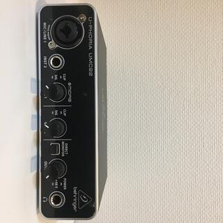 ベリンガー 2入力2出力 USBオーディオインターフェース UMC22 (その他)