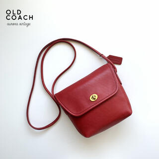 COACH - 【良品】OLD COACH/オールドコーチ USA製ターンロックショルダー