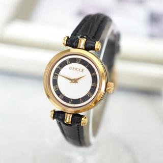Gucci - 美品✨GUCCI オールドグッチ シェリーライン 時計✨エルメス サンローラン