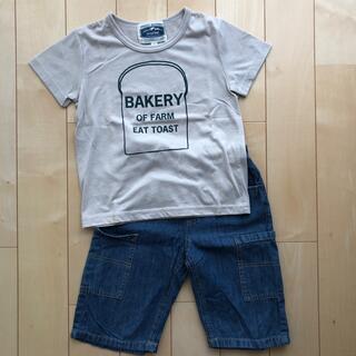 エニィファム(anyFAM)のanyFAM Tシャツ ハーフパンツ 上下 120cm(Tシャツ/カットソー)