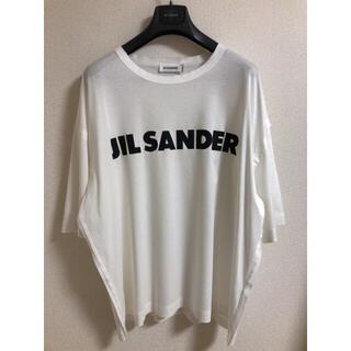 ジルサンダー(Jil Sander)のJILSANDER ジルサンダー ロゴTシャツ (Tシャツ/カットソー(半袖/袖なし))