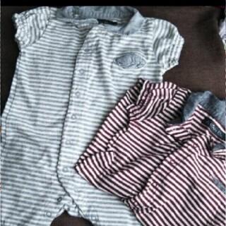 エーキャンビー(A CAN B)のロンパース 60  エーキャンビー ベビー服 ベビー 子供服 ベビー 出産準備(ロンパース)