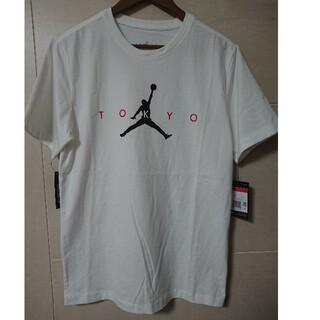 ナイキ(NIKE)のNIKE エアージョーダン ジャンプマンロゴTシャツ サイズL(Tシャツ/カットソー(半袖/袖なし))