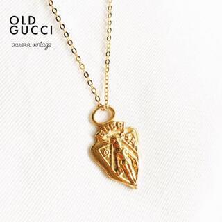Gucci - 【美品】オールドグッチ  ネックレスペンダントトップ クレストチャーム