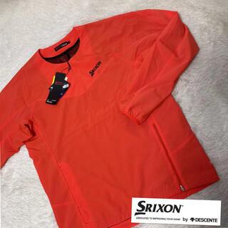 Srixon - M新品定価10800円/スリクソン長袖ウィンドプルオーバー /ブルゾン