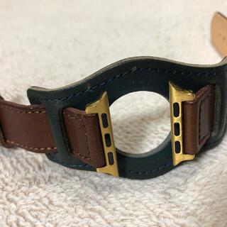 Apple Watch - 栃木レザー Apple Watch     38 40mm  BUNDバンド